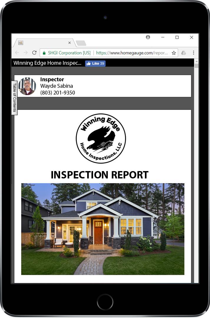 Homegauge CRL Digital Report